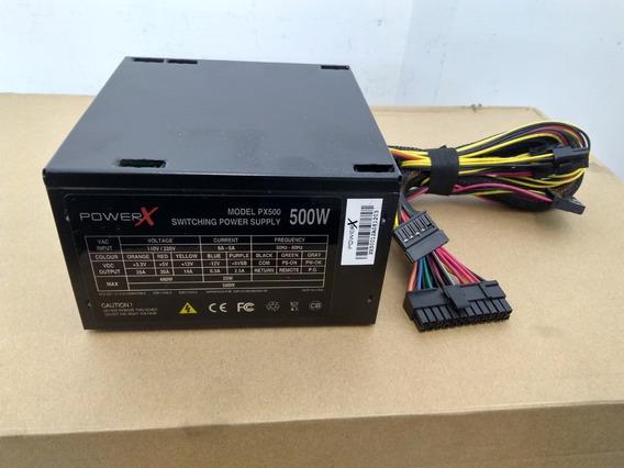 Fonte De Alimentação Atx 500w Argus Power X Px50