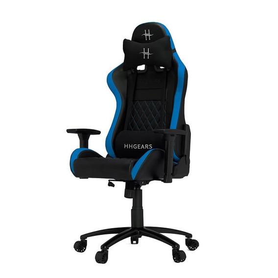Silla Hhgears Xl-500 Gamer 3d Ergonómica Negro/azul