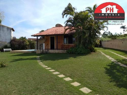 Casa 3 Qtos Gramado Piscina 694 M2 De Terreno No Balneário De São Pedro - 1250