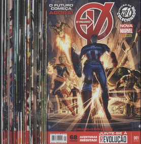 Os Vingadores - 22 Volumes - Do Nº.01 Ao N°.22