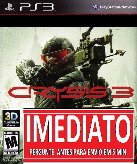 Crysis 3 Ps3 Psn Midia Digital
