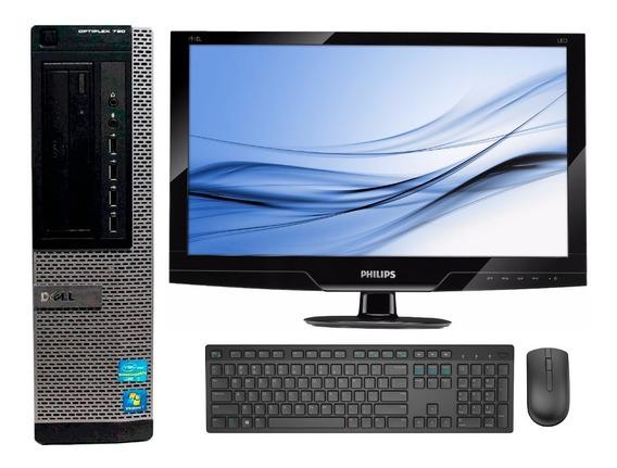 Computador Dell Core I5 2400 4gb Ddr3 500gb + Monitor 19 Led