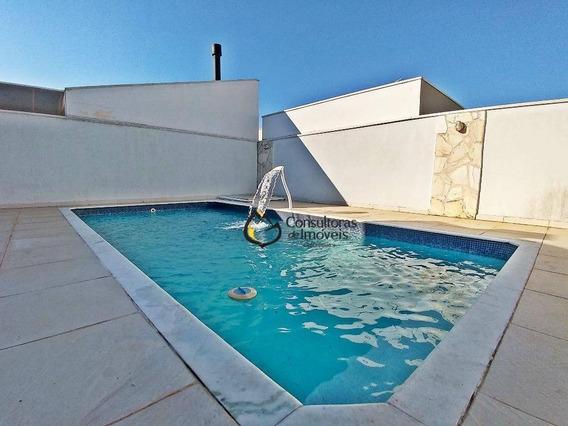 Casa Com 4 Dormitórios À Venda, 200 M² Por R$ 700.000,00 - Condomínio Campos Do Conde - Paulínia/sp - Ca0709