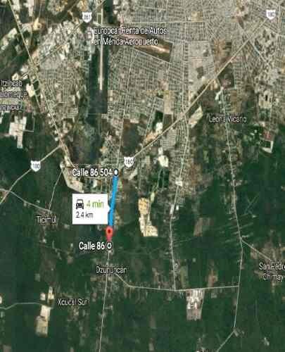 Terreno En Venta, Dzununcan, Mérida, Yuc. Ttv 298963