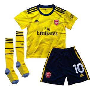Kit Infantil Arsenal 2019/2020 Ozil - Pronta Entrega
