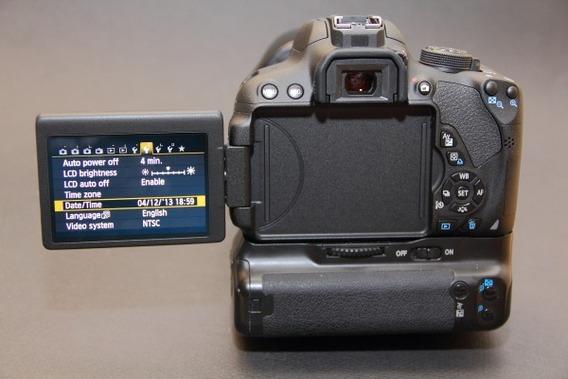 Corpo Câmera Canon Eos Rebel T5i - Leia A Descrição!