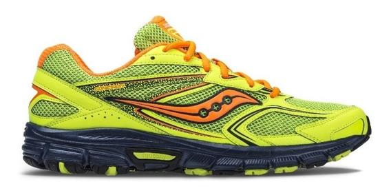 Tenis Saucony Color Neon Running Nuevos Original #28