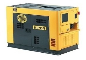 Generador Kipor Kde12staf3 Diesel 10 Kva 15 Hp 380/220v/avr