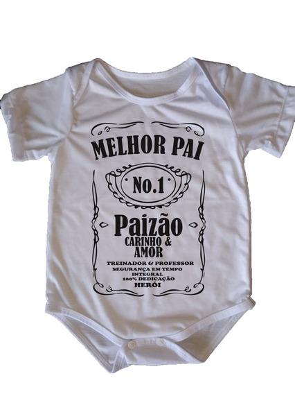 Body Infantil Paizão - Jack Daniels No1