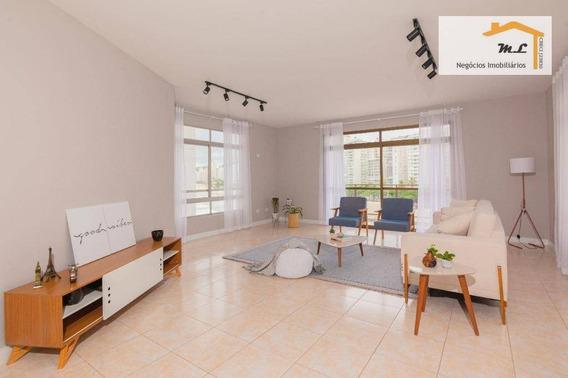 Apartamento Com 3 Dormitórios À Venda, 181 M² Por R$ 750.000,00 - Morro Do Maluf - Guarujá/sp - Ap0886