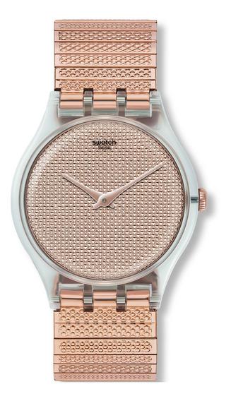 Relógio Swatch Poudreuse Unissex Suok134a