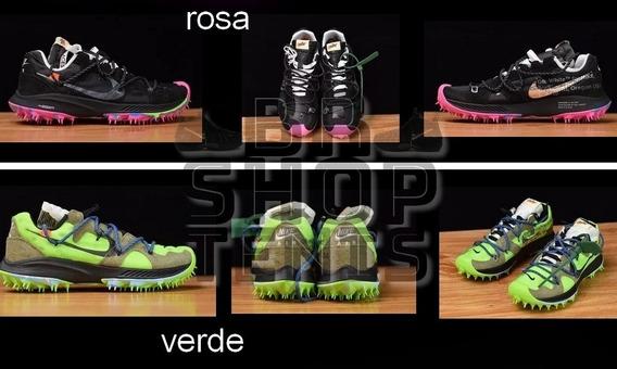 Tenis Nike Off-white X Nike Zoom Terra Kiger 5 Leia A Descr
