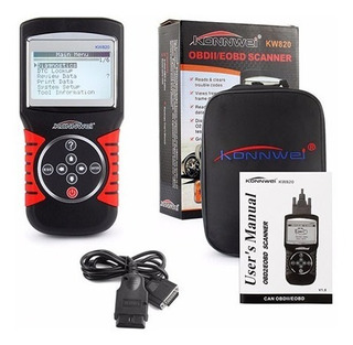 Scanner Automotriz Obd2- Obd1 Multimarcas Actualizado Kw820