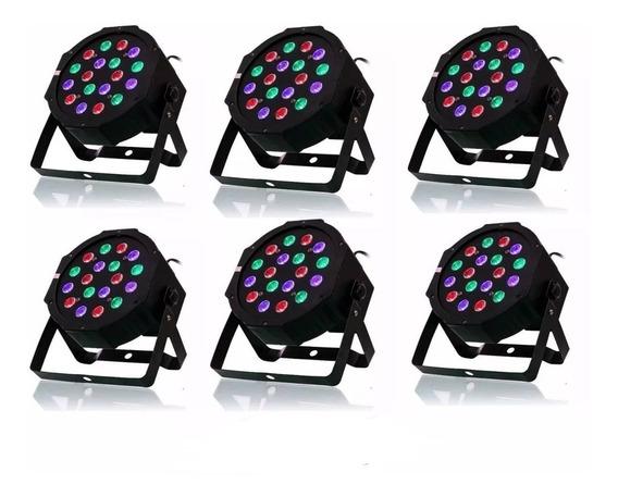 Kit 5 Strobo Projetor Holografico Jogo Iluminação Colorida