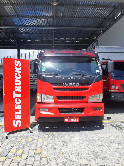Iveco Vertis 90v18 Ano 12/13 Carroceria Baixo Km Selectrucks
