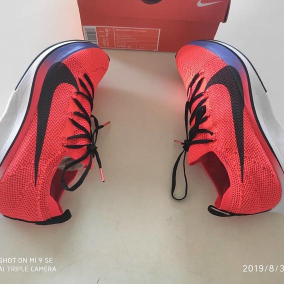 Tênis Nike Vaporfly 4% Flyknit Original Na Caixa Envio Imedi