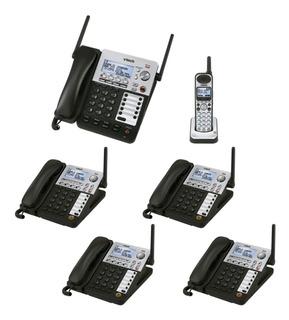 Operadora Y Cinco Extensiones De Escritorio Vtech Sj5030a