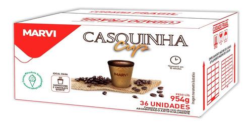 Casquinha Cup 130ml Cafes Marvi Cx 36 Copos