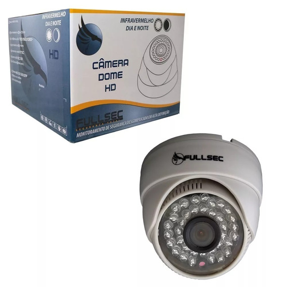 Camera Dome Infra 800 Linhas 36 Leds 1/3 3.6mm 953