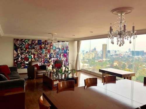 Amplio Penthouse Amueblado Con Maravillosa Vista A La Ciudad
