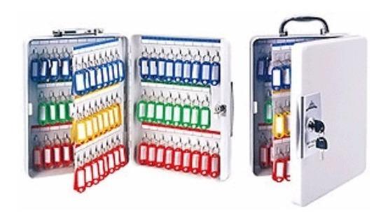 Caja Organizadora Metalica Para 100 Llaveros