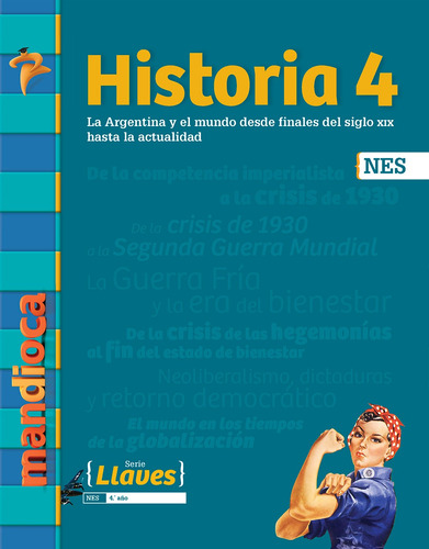 Historia 4 Nes Serie Llaves - Editorial Mandioca