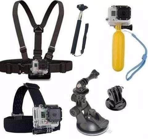 Kit Gopro Kindcam Xplorer Xp002 Mormaii Nikon Keymission