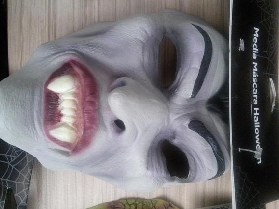 Lote De 9 Mascaras Halloween Dia Muertos Disfraces Oferta