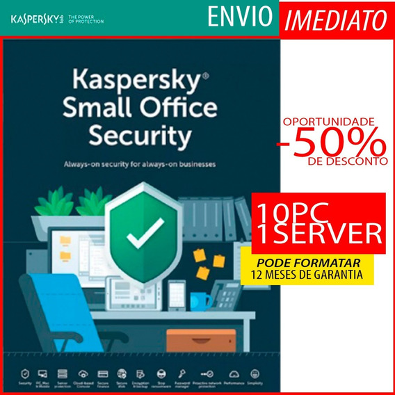 Kaspersky Small Office Security 10 Pcs + 1 Servidor