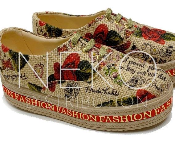 Zapatos De Plataforma Dama Moda