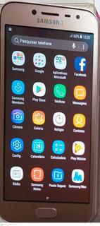 Celular J2 Pro Sansumg 16gb Usado Na Caixa Com Garantia
