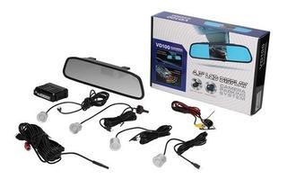 Sensor De Estacionamiento Espejo Con Camara De Retroceso Y A