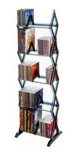 Librero Torre Dvd Cd Videojuegos 5 Niveles Oferta!