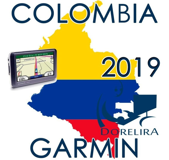 Mapas Garmin Gps Colombia Ruteables Actualizado 2019