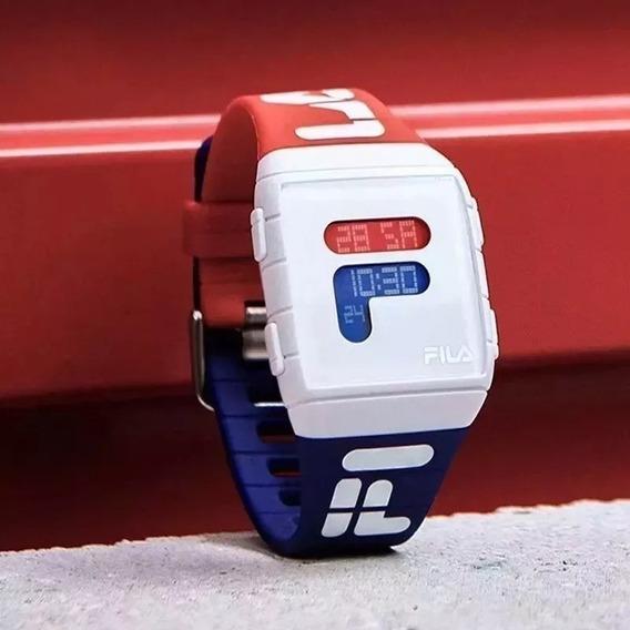 Relógio Fila Unissex Digital Esportivo +caixa + Frete Gratis