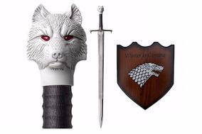 Espada Game Of Thrones Jon Snow Promoção +brinde