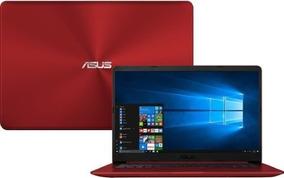 Notebook Asus Vivobook X510ua I7 4gb 1tb 15,6 W10 Vermelho