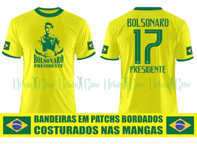 Camisa Brasil Bolsonaro Capitão