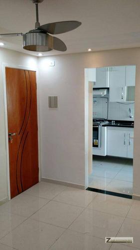 Imagem 1 de 13 de Apartamento Com 2 Dormitórios À Venda, 48 M² Por R$ 185.000,00 - Jardim São Luis - Guarulhos/sp - Ap0124