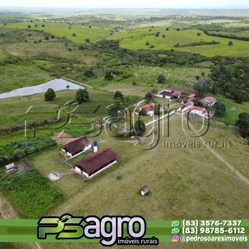 Imagem 1 de 17 de Fazenda À Venda, 50 Hectares Por R$ 2.200.000 - Centro - Mari/pb - Fa0083