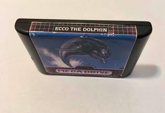 Jogo Ecco The Dolphin Mega Drive Original - Sega Genesis