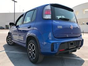 Hermoso ! Fiat Uno 2016 Sporting Azul 25,000 Km. Standard
