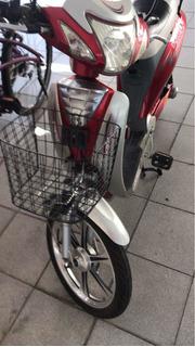 Vendo Bicicleta Elétrica Duka 250 Watts. Com Baú Givi
