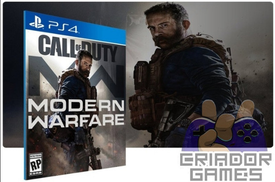Call Of Duty Modern Warfare Ps4 Digital Psn Vitalício Dublad