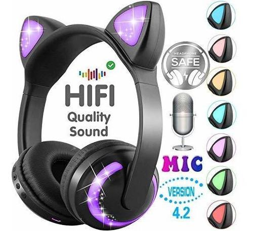 Gbd Audifono Para Niño Niña Cumpleaño Bluetooth