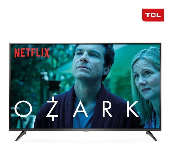 Smart Tv Led 55 Polegadas Tcl P65us Ultra Hd 4k Hdr 55p65us