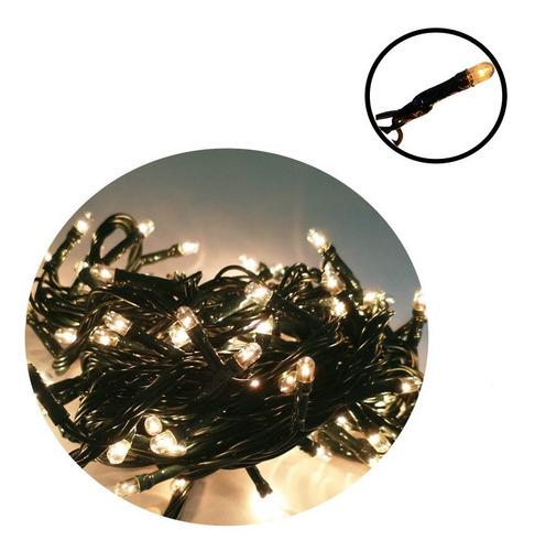 Pisca Pisca Led Natal 100 Lâmpadas Decoração- Branco Quente
