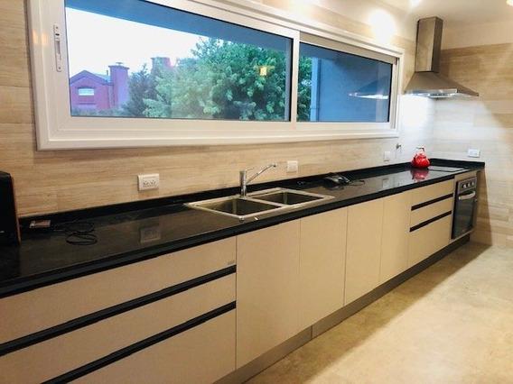 Alquiler 24 Meses Casa Moderna En Barrio Privado Arenas Del Sur