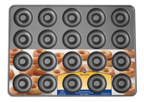 Imagen 1 de 9 de Donas Molde X 20 Grande 39.4 X 54.6 Wilton Titanweb