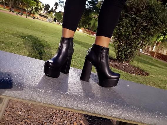 Zapatos Botas Fiesta Plataforma Mujer Dama Moda